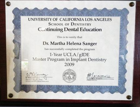 Meet The Doctor Bakersfield Dentist Martha H Sanger Dds